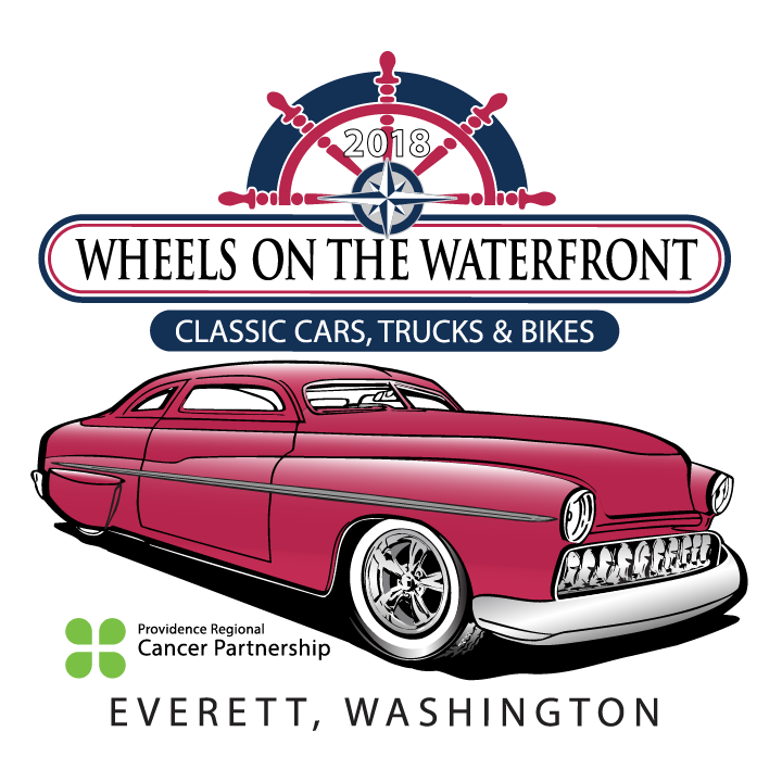 Wheels On The Waterfront Everett Washingtons Car Show With A Cause - Classic car show washington